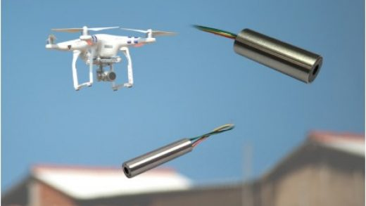 New sensor solution for accurate UAV flight control