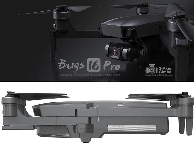 MJX BUGS 16 PRO: GPS 4K EIS camera drone – Dronestagram Blog